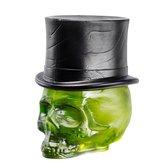 Still Life Skull Hat Absinth