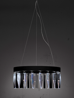 Prismo Black Lamp - Orrefors