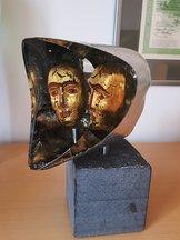 Janus Head Small Gold