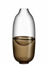 Septum Vase Brown