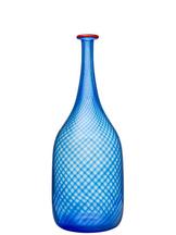 Red Rim Bottle Blue