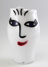 Open Minds Vase Middle White