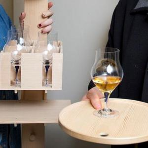 Intermezzo Blue Snifter Cognac Glass - Orrefors