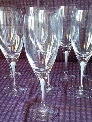 Intermezzo Satin Red Wine Glass - Orrefors