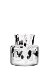 Birch Vase Black / White Small