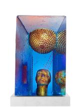 Blue Moon Sculpture