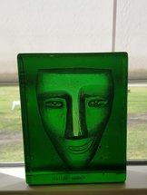 Salute Face Green Block