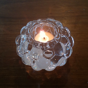 Raspberry Votive Clear Small - Orrefors