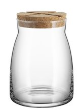 Bruk Jar Large Clear  with lid