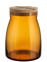 Bruk Jar Large Amber with lid