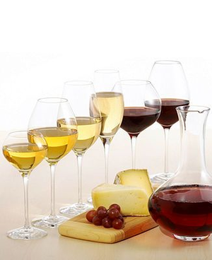 Difference Fruit White Wine Glass - Orrefors