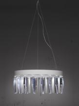 Prismo White Lamp