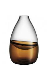 Septum Vase Golden Brown