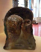 Sculpture with Brown Face Unique