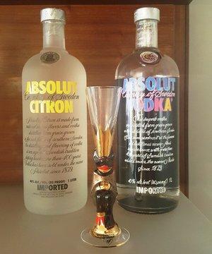 Nobel Devil Glass 2018 Brown Metallic - Orrefors Shot