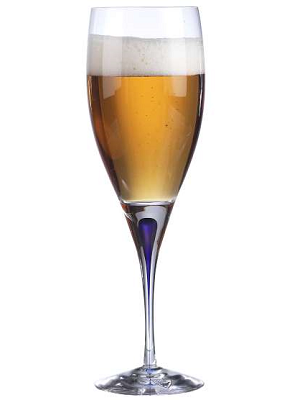 Intermezzo Blue Beer/Red Wine 33 Cl - Orrefors